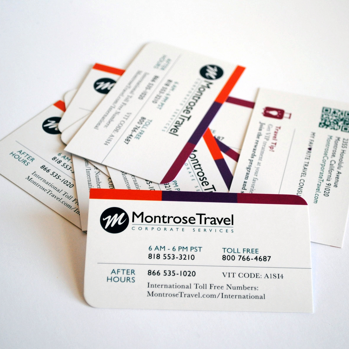Montrose Travel Corporate Services – After Hours Card