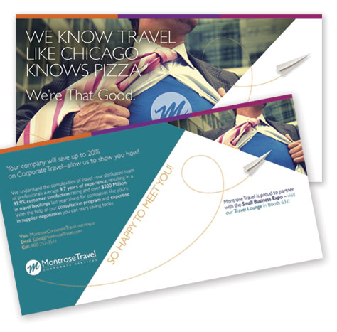 Montrose Travel Corporate Services – Mailer with Variable Data