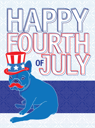 Happy 4th of July from the Ruff Haus Pack