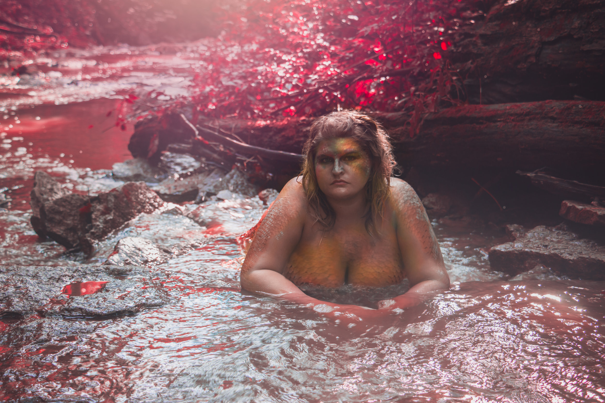 Say Yes To Jess Mermaid Dream Session Cincinnati Ohio
