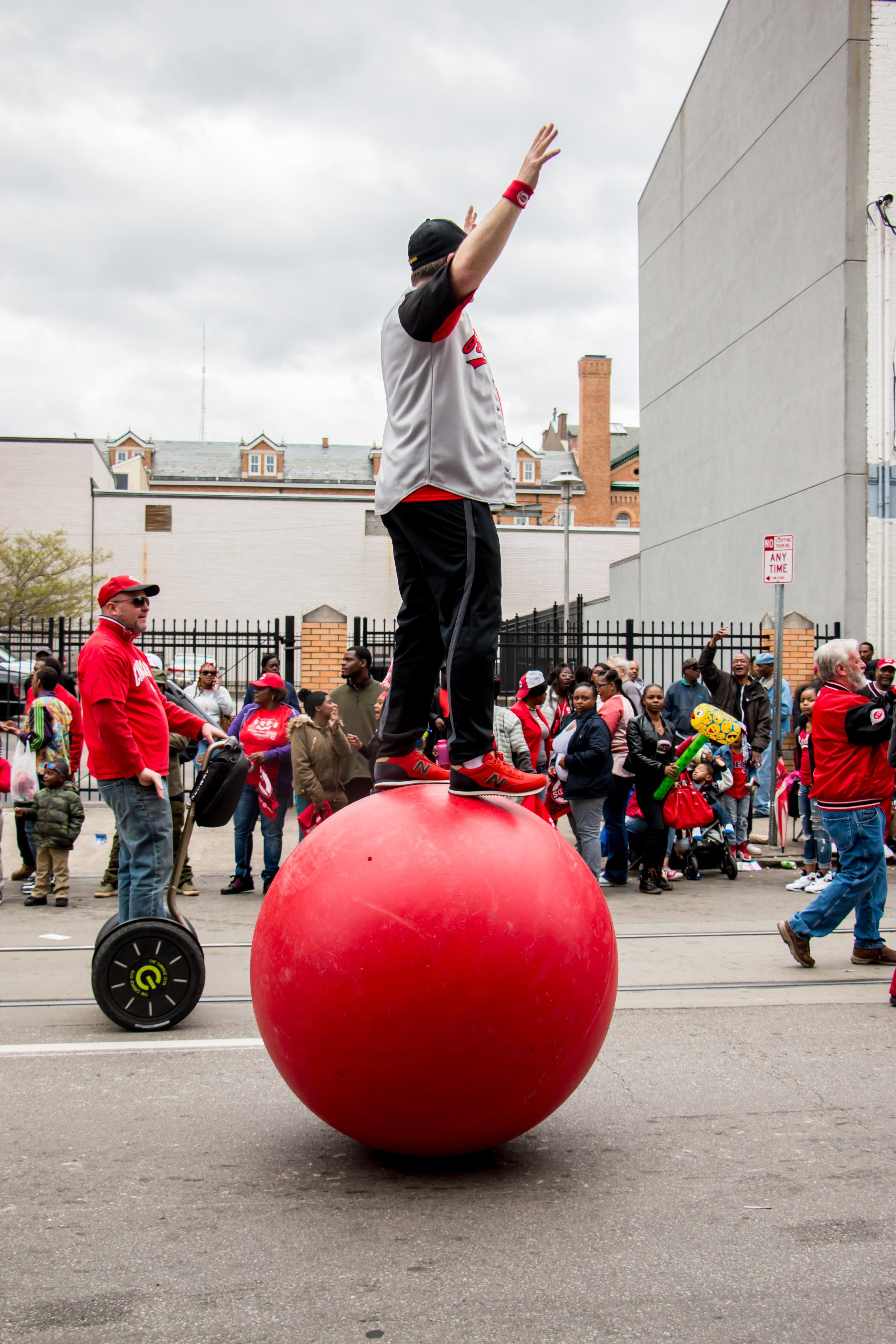 Cincinnati Reds Opening Day Parade 2017