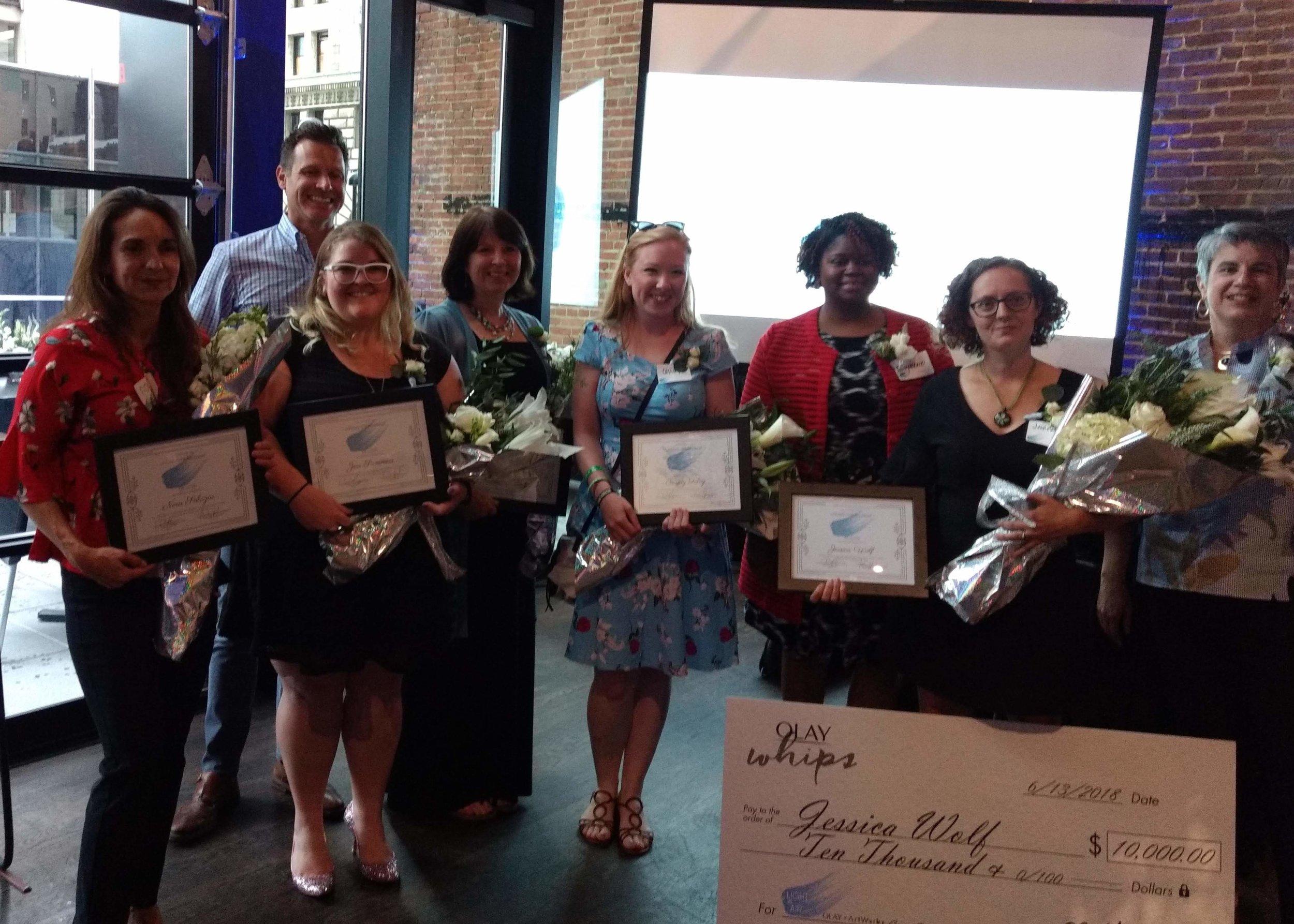 Cincinnati Ohio Artworks and Olay Light as Air contest Winners.jpg