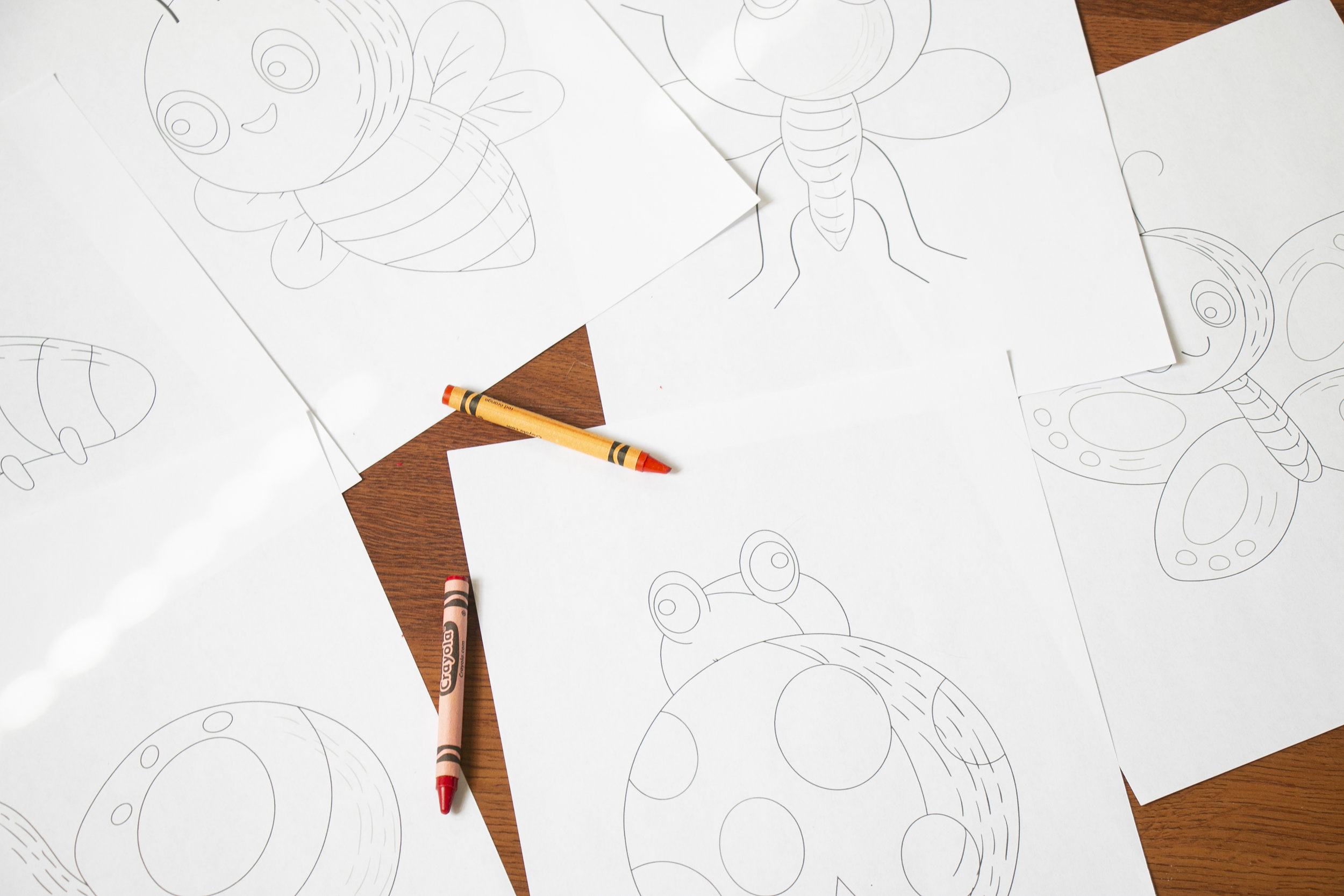 - Printable PDF Spring Coloring Book Pages — Say Yes To Jess