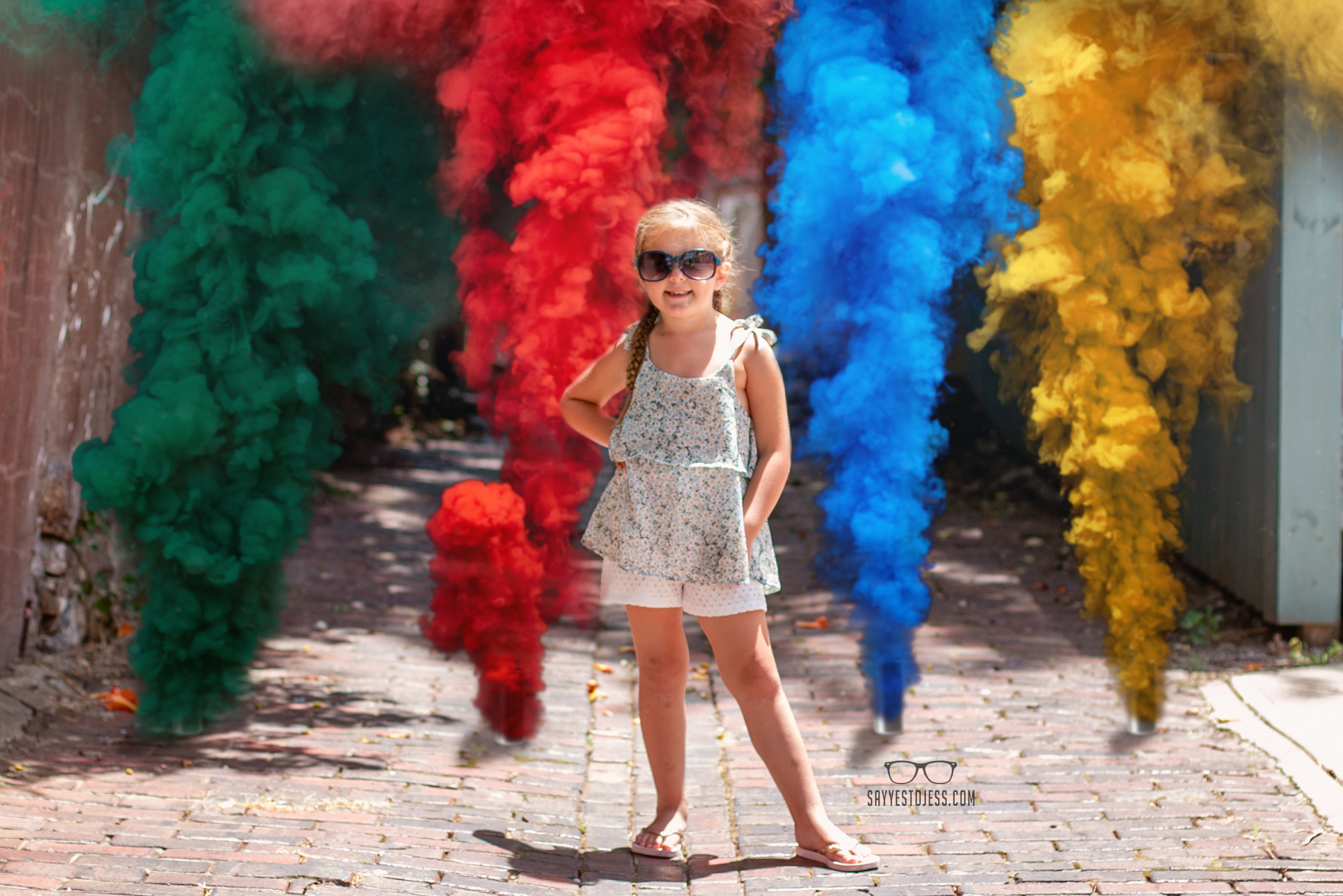 Adorable Photo of little girl by Family Photographer in Cincinnati Ohio Jess Summers of Say Yes to Jess