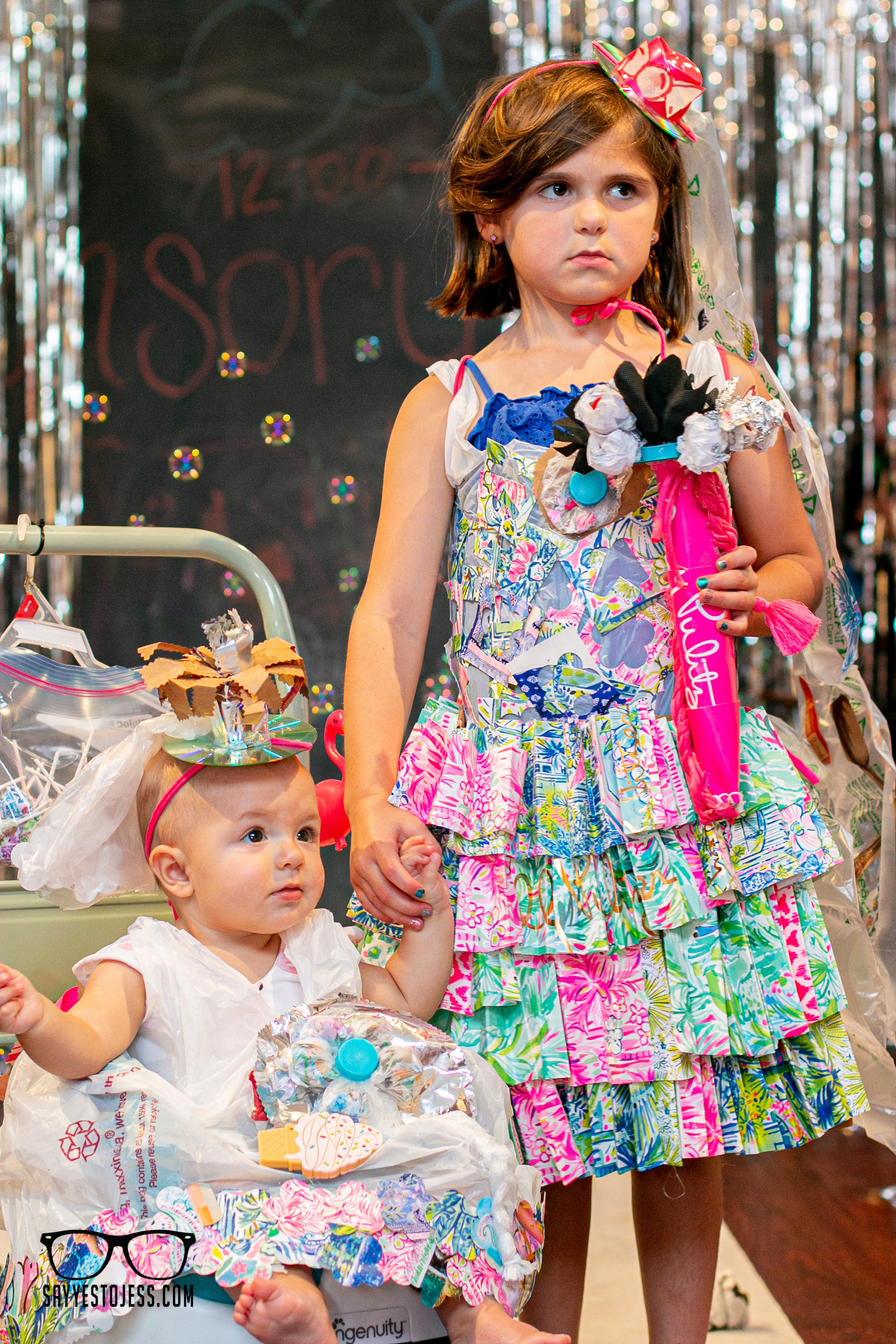 Trashion Show At Red Balloon Cafe by Jess Summers of Say Yes To Jess Cincinnati Ohio Family Photographer