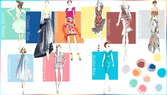Pantone Spring 2015 Colors