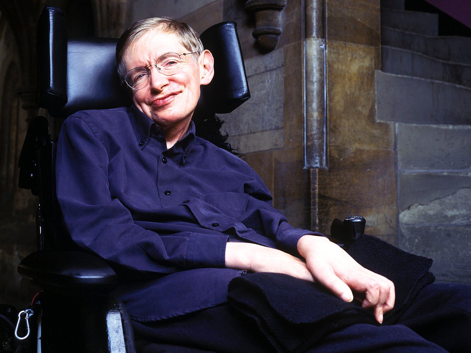 Picture of Professor Stephen Hawking