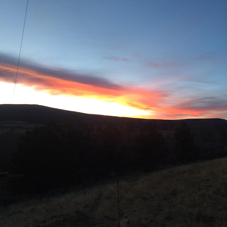 Sunset over Bull Mountain