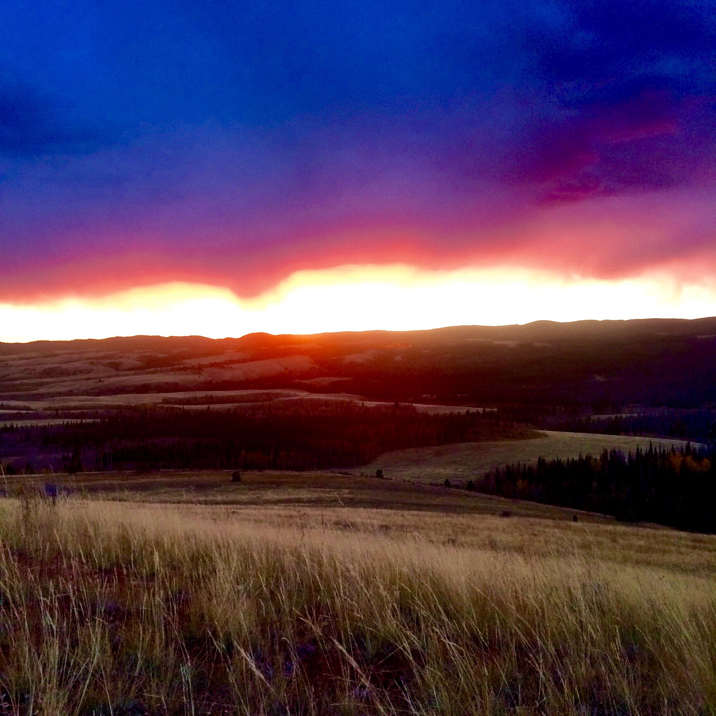 Sunrise over Boulder Ridge