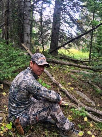 Ben at the elk wallow