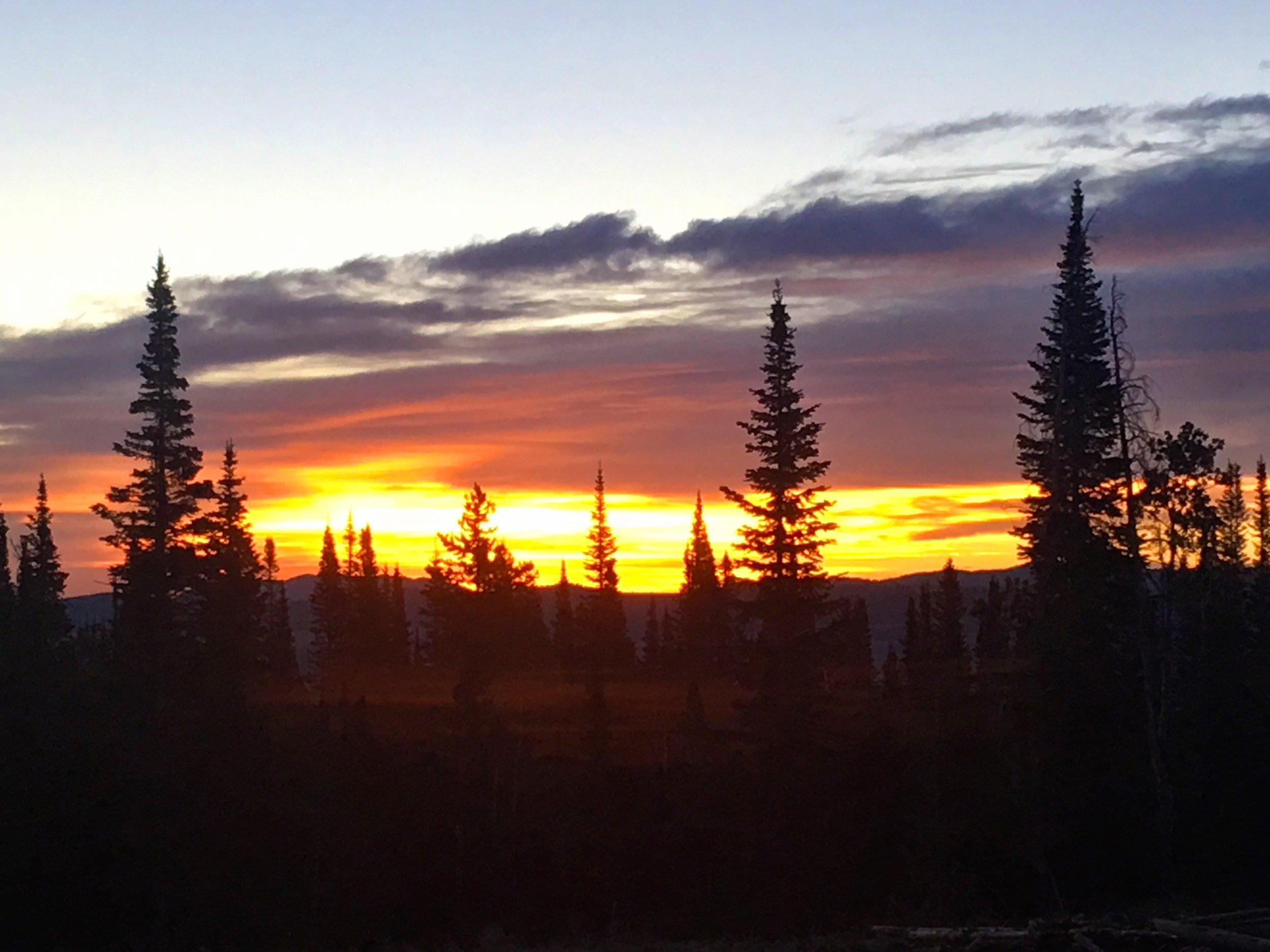 Bull Mountain Sunrise.....