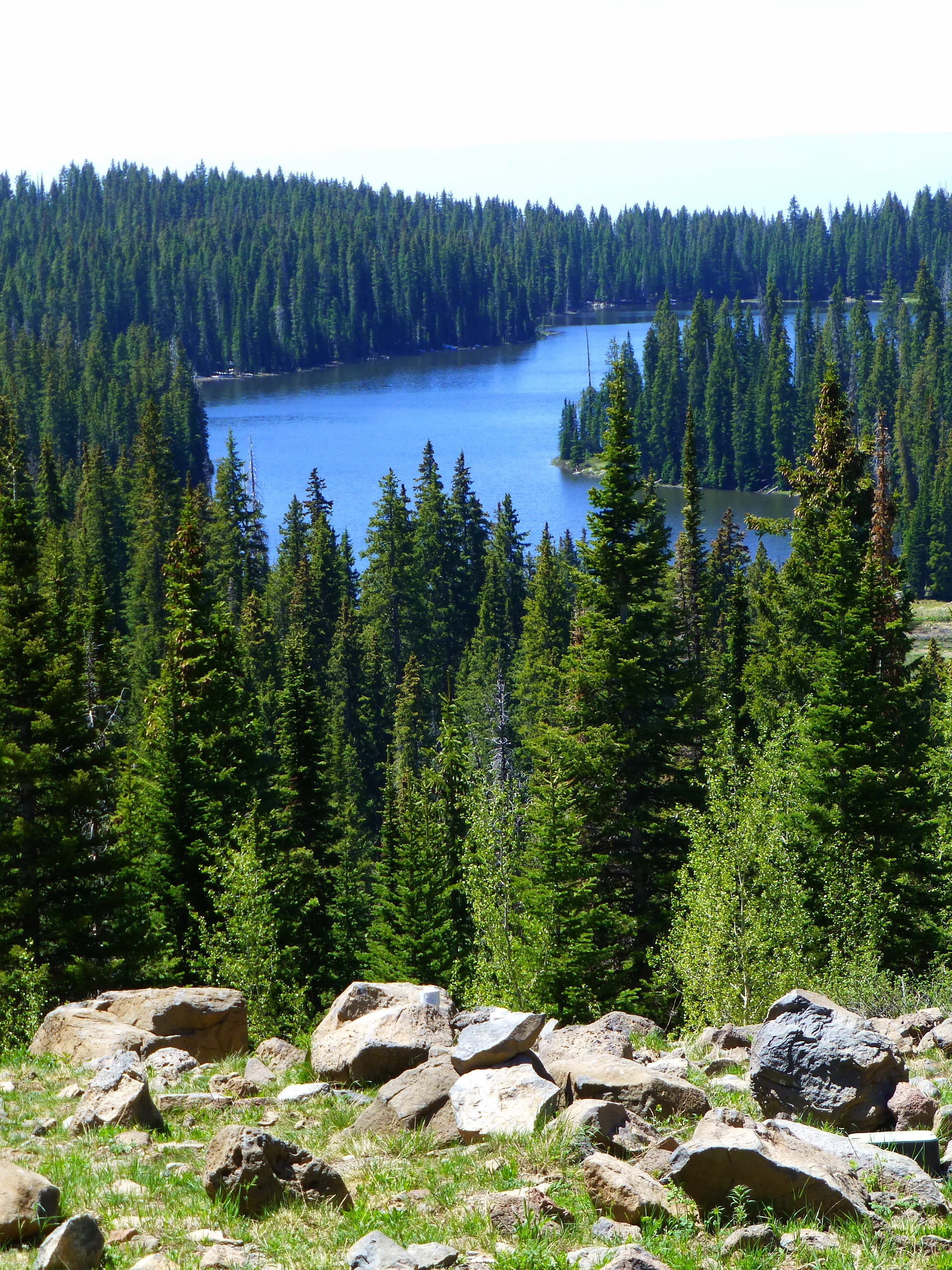 One of Grand Mesa's 300 lakes