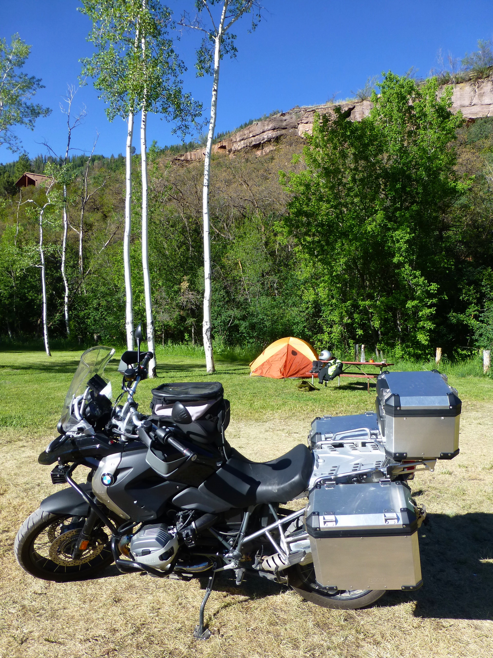 My Ouray campsite