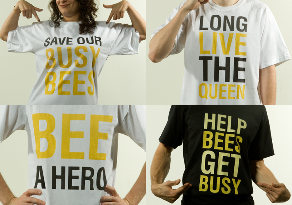 Bee Shirts sold on site