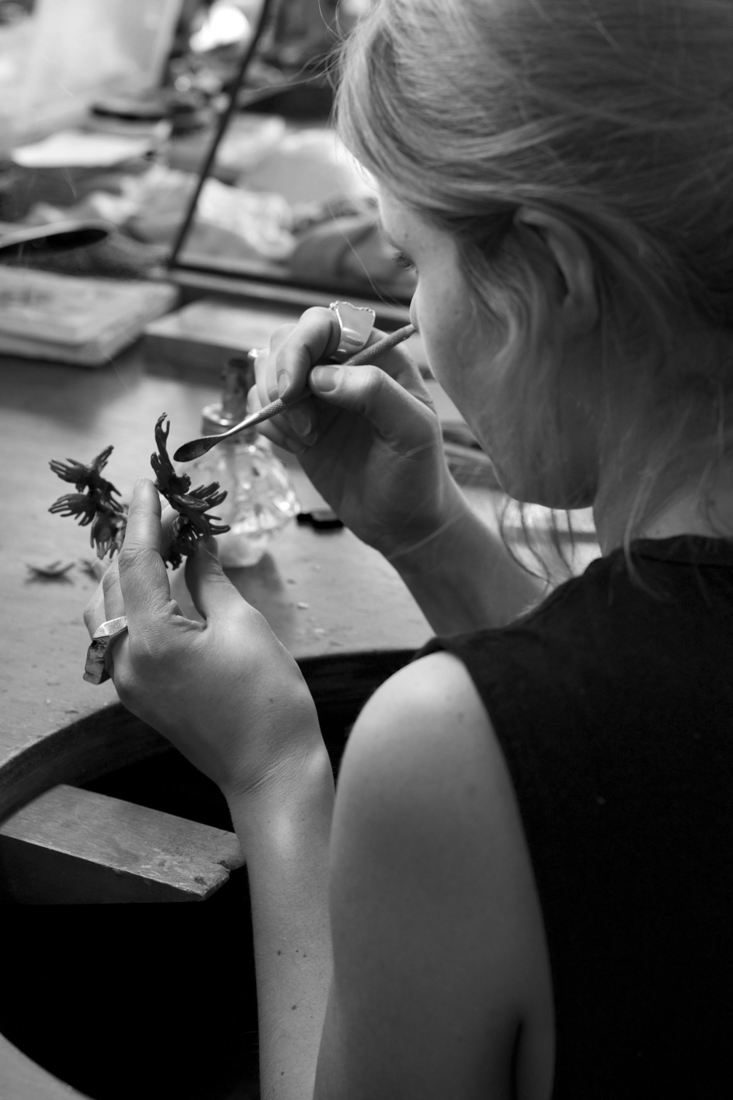 Captve Jewelry, independent jewelry designer, Velvit