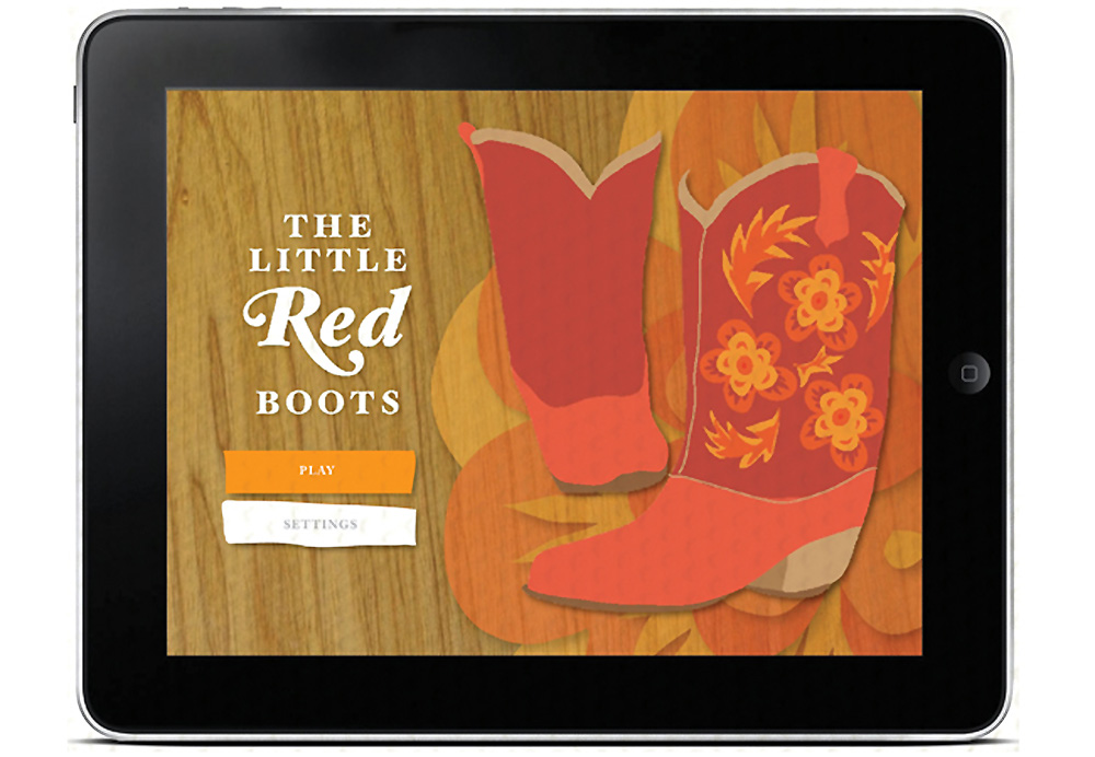 The Little Red Boots