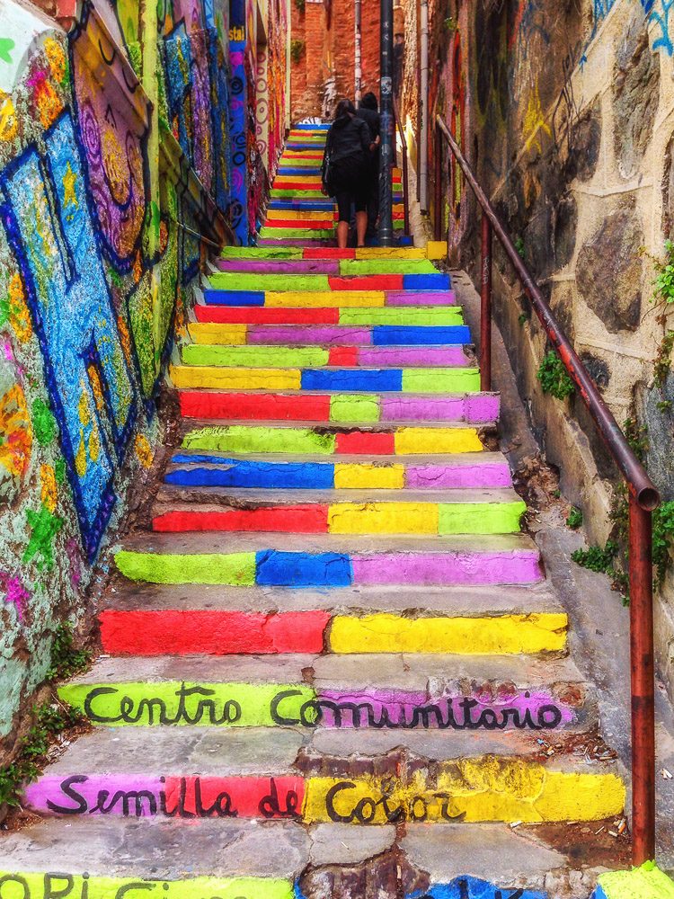 Valparaiso Stairway