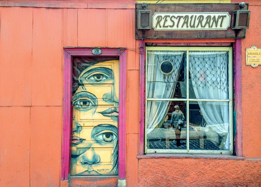 Restaurant and Eyes