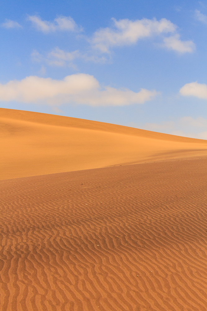 Dunes and Blue Sky