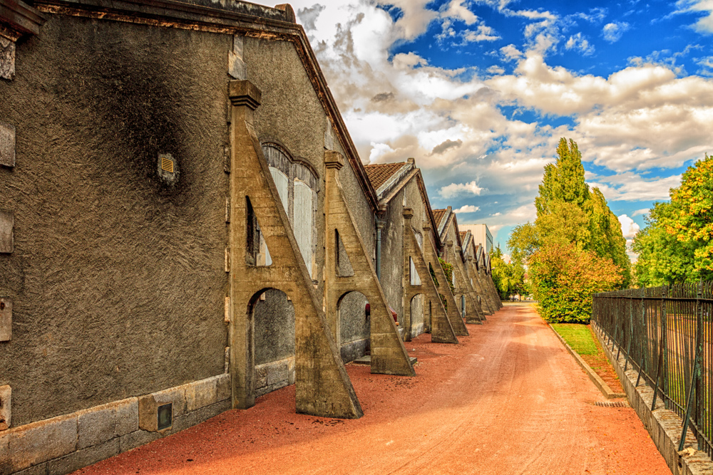 Hennessy Warehouse on the Charente