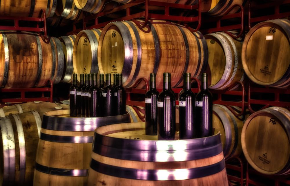 In the cellars of cariñena