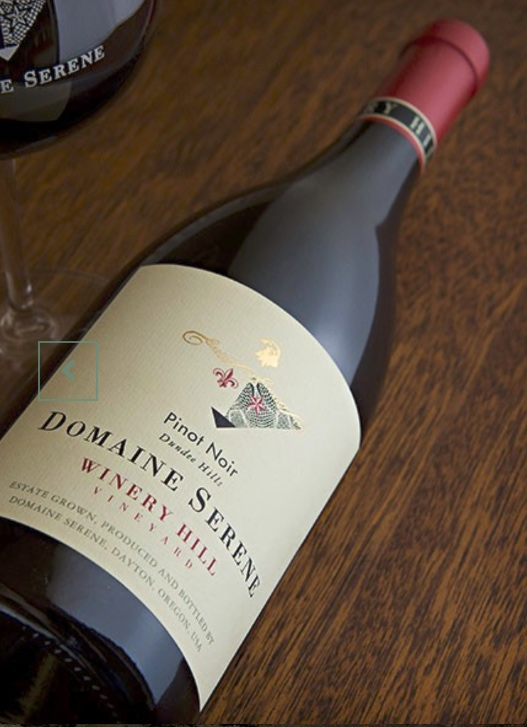 The Decanter World Wine Awards Best in Show pinot noir from Domaine Serene. But good luck finding a bottle! (Photo: Domaine Serene)