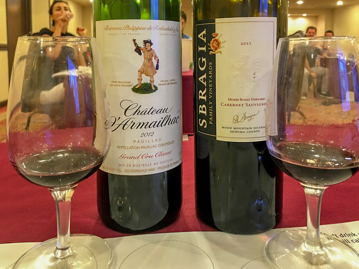 What can we learn from tasting these two wines side by side? First, they taste great and second, each speaks of its origin
