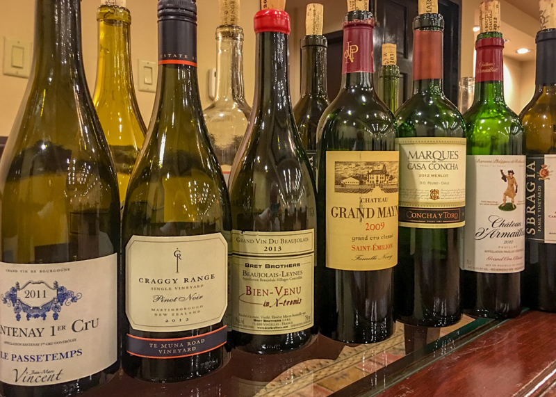 Each class day involves tasting, evaluating and comparing great wines and spirits