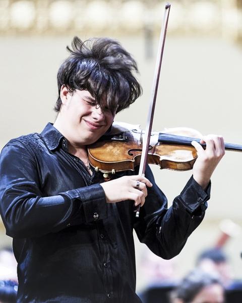 Violinist Jan Mráček