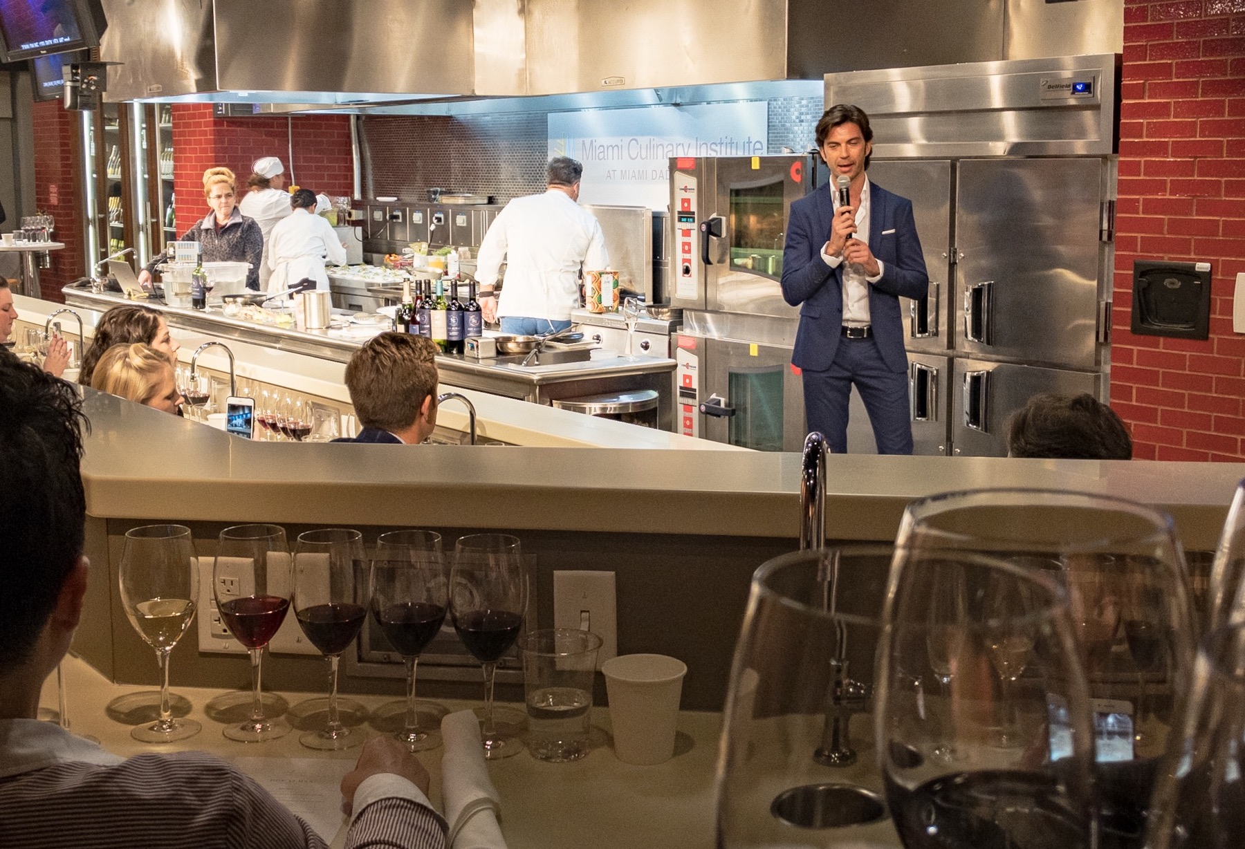 Francesco Zonin (himself a Millennial) speaks at the launch of the portfolio from new Chilean winery Dos Almas (photo: Lyn Farmer)