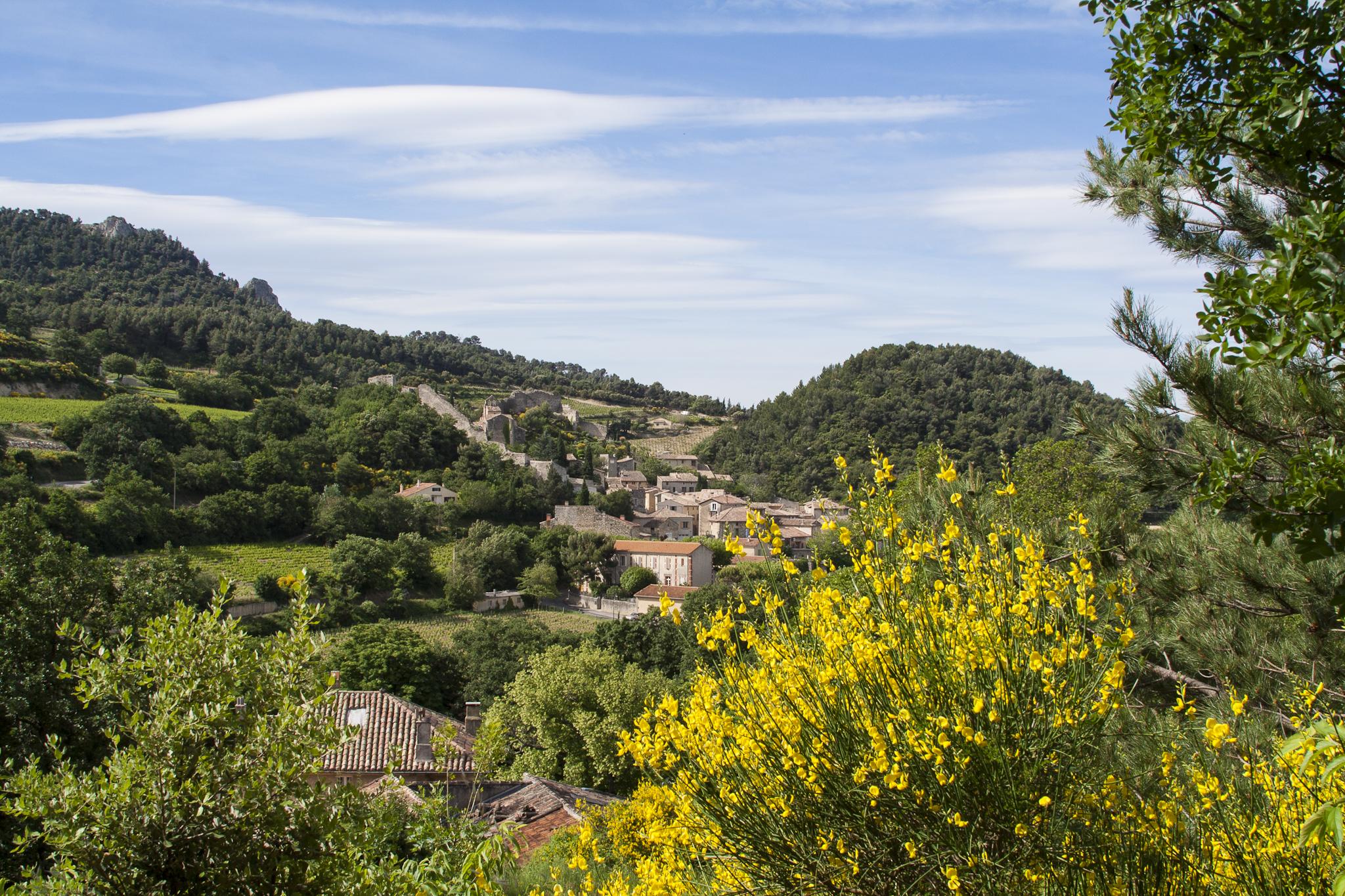 Gigondas in the Rhône Valley (Photo (c) Lyn Farmer)