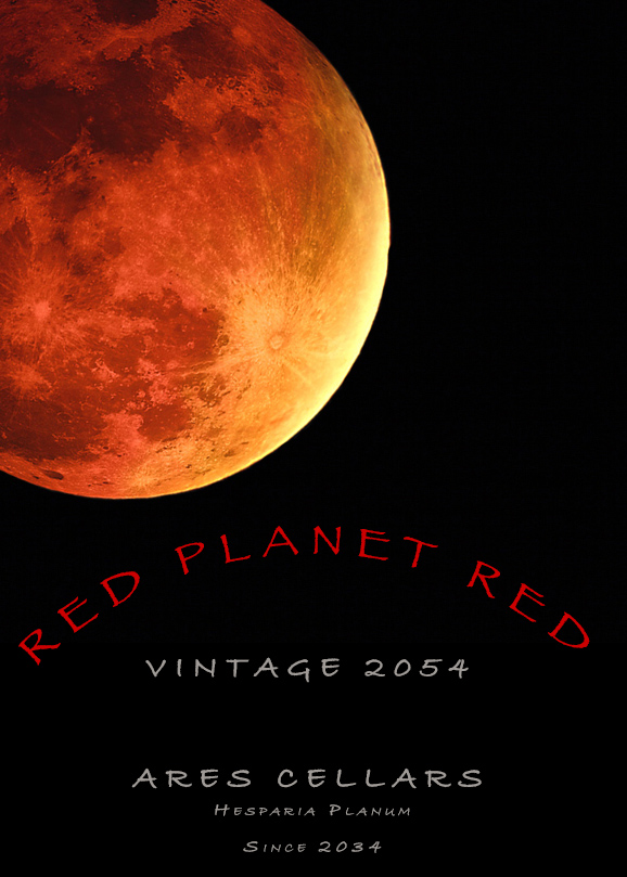 """Giving the idea of """"wine futures"""" a totally new spin (Photo: NASA and Lyn Farmer)"""