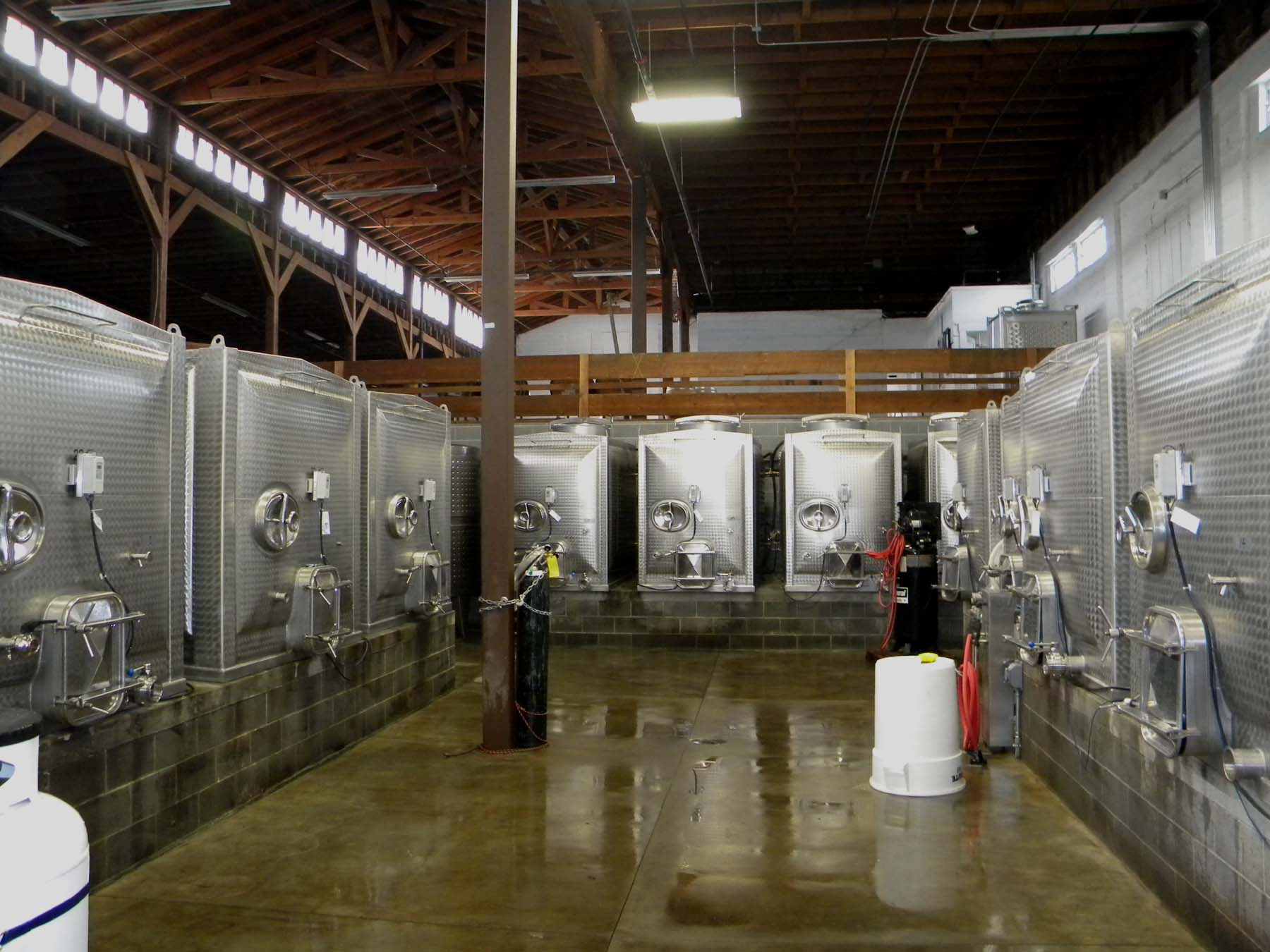 Pallet Winery Medford, Oregon Designed by Heiland Hoff Architecture, LLC