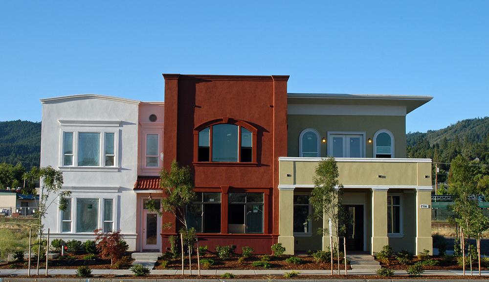 Clear Creek Plaza, Ashland, Oregon  Heiland Hoff Architecture LLC