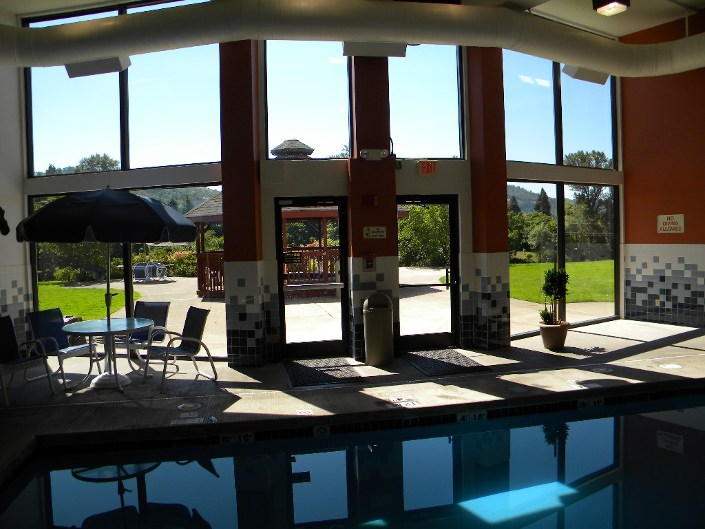 Holiday Inn Pool Room Remodel Roseburg, Oregon Heiland Hoff, Project Architect