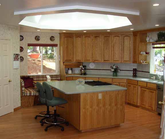 Burck Kitchen Addition Lebanon, Oregon Heiland Hoff Architecture Project Architect: Heiland Hoff
