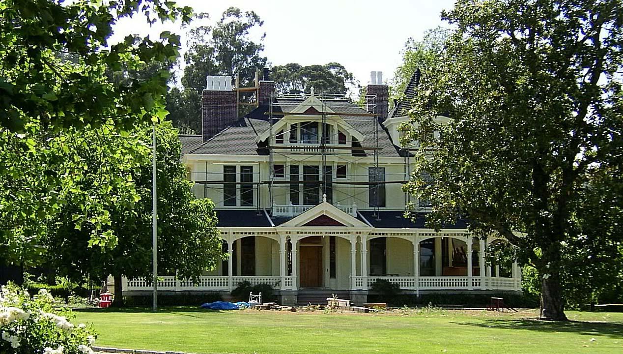 Francis Ford Coppola Historic Renovation, Saint Helena, CA