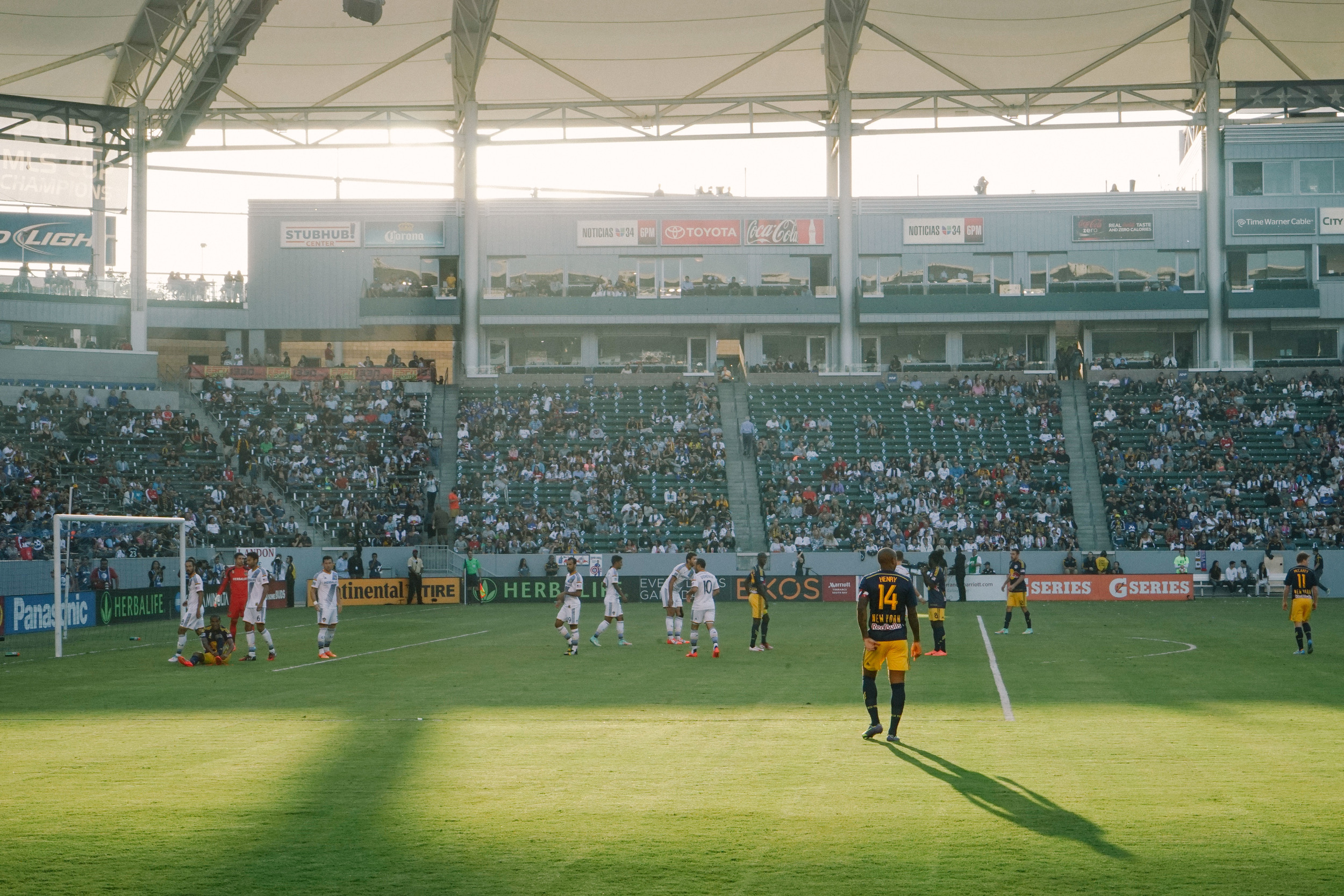 Thierry Henry - NY Red Bulls @ LA Galaxy