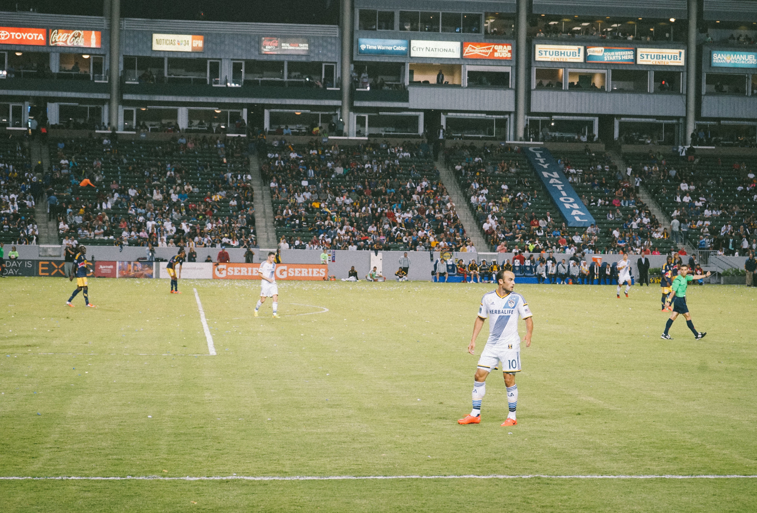 Landon Donovan. - NY Red Bulls @ LA Galaxy