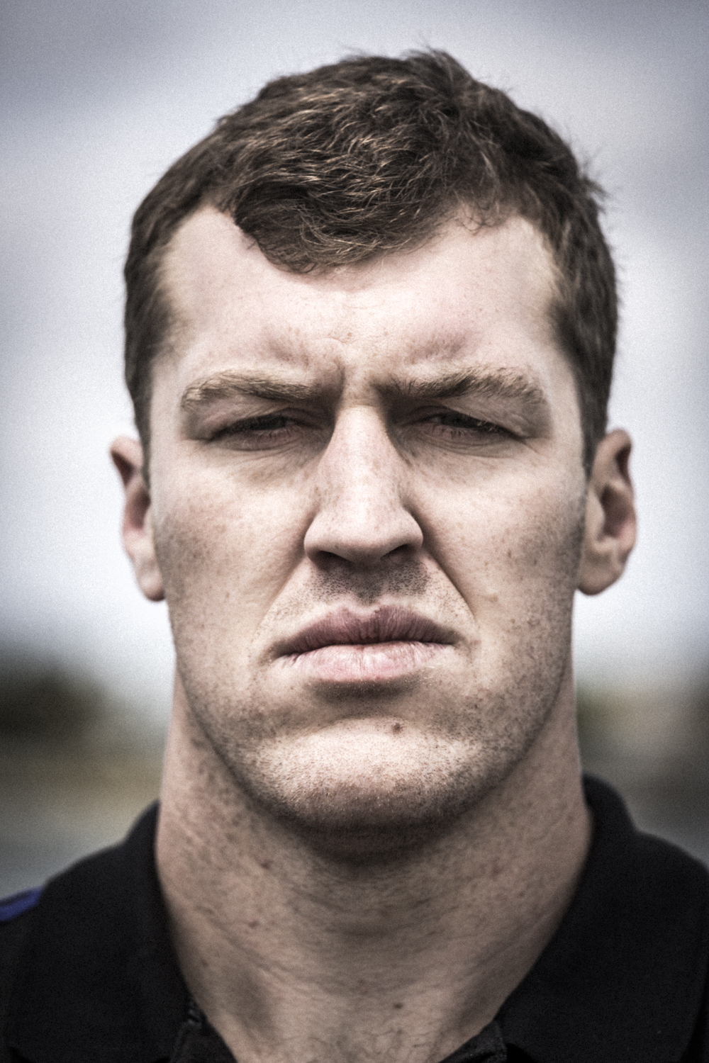 Brodie Retallick, All Black hard man, photographed by Spid
