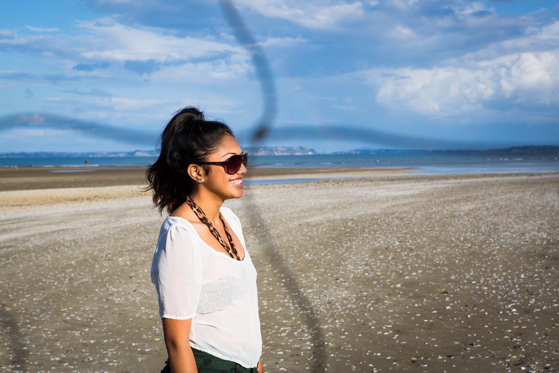 Maori GAYoung WOman on Beachirl 24 At The Beach