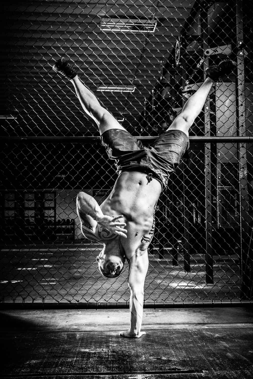 Man doing a Hand Stand
