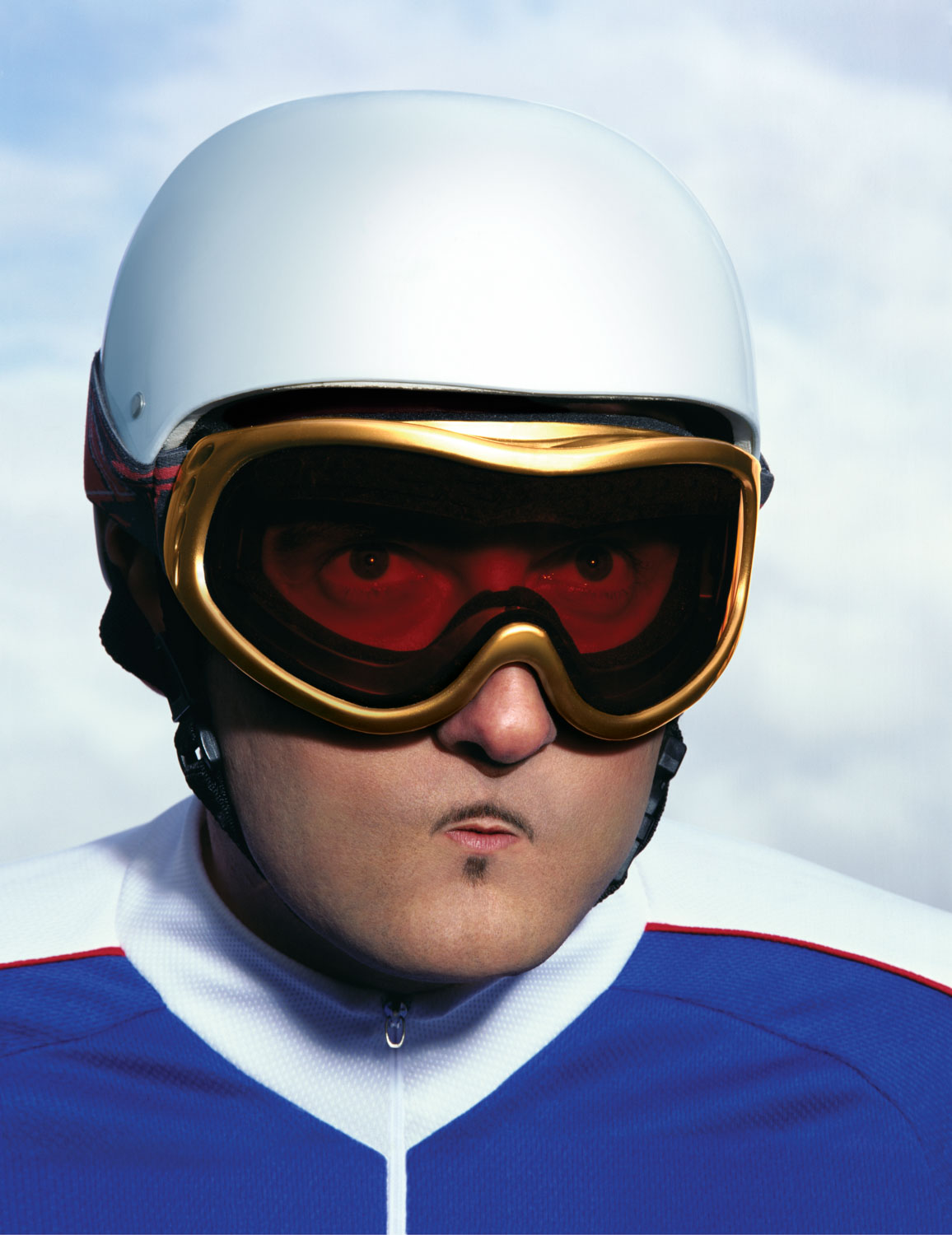Snowboarder with tiny Lips