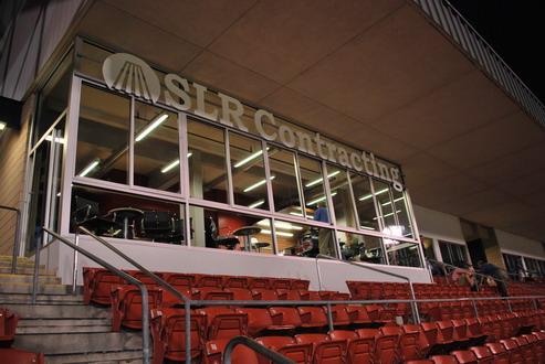 SLR Contracting Media & Conference Suite @ Coca Cola Stadium