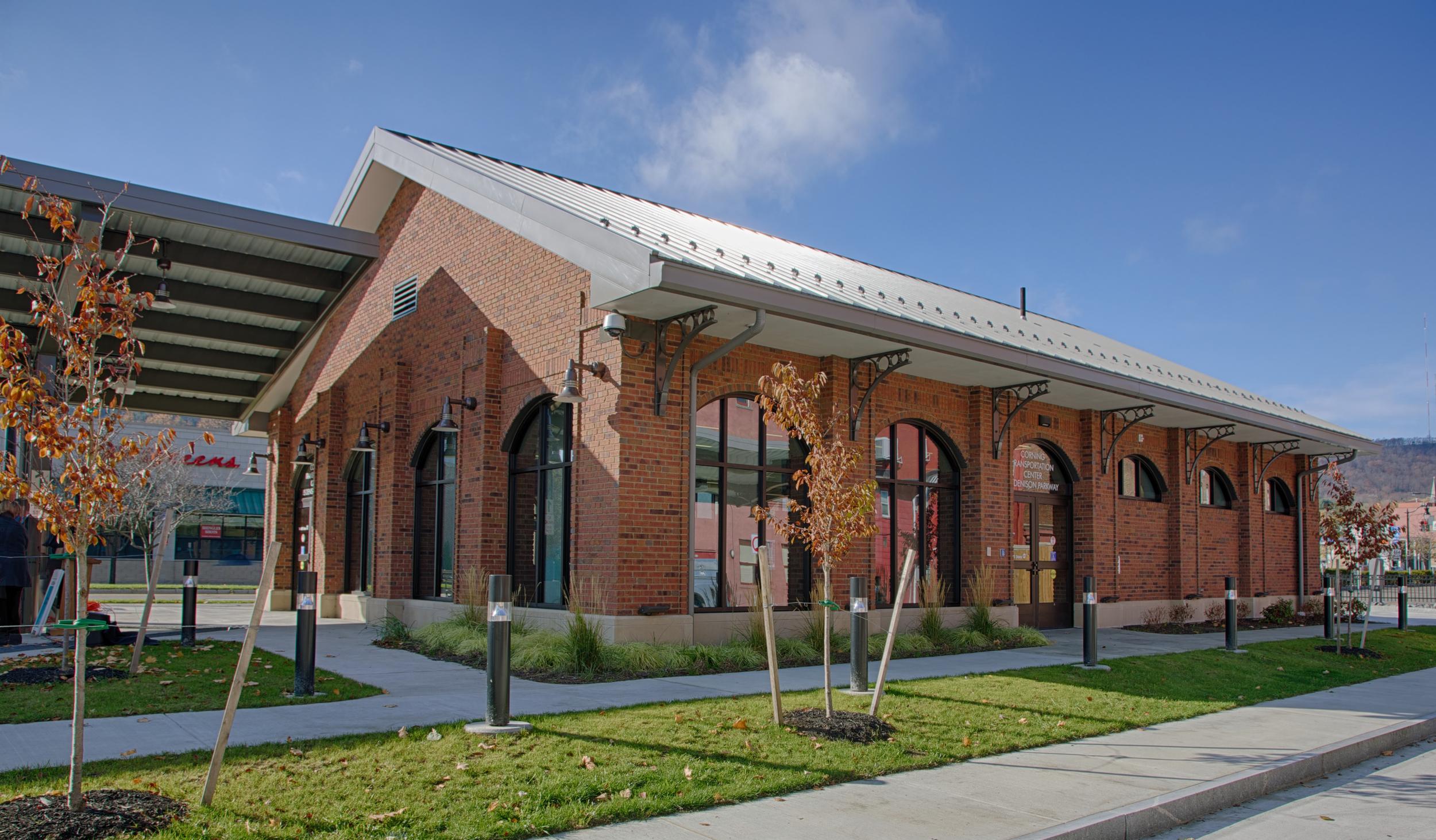 Corning Intermodal Transportation Center