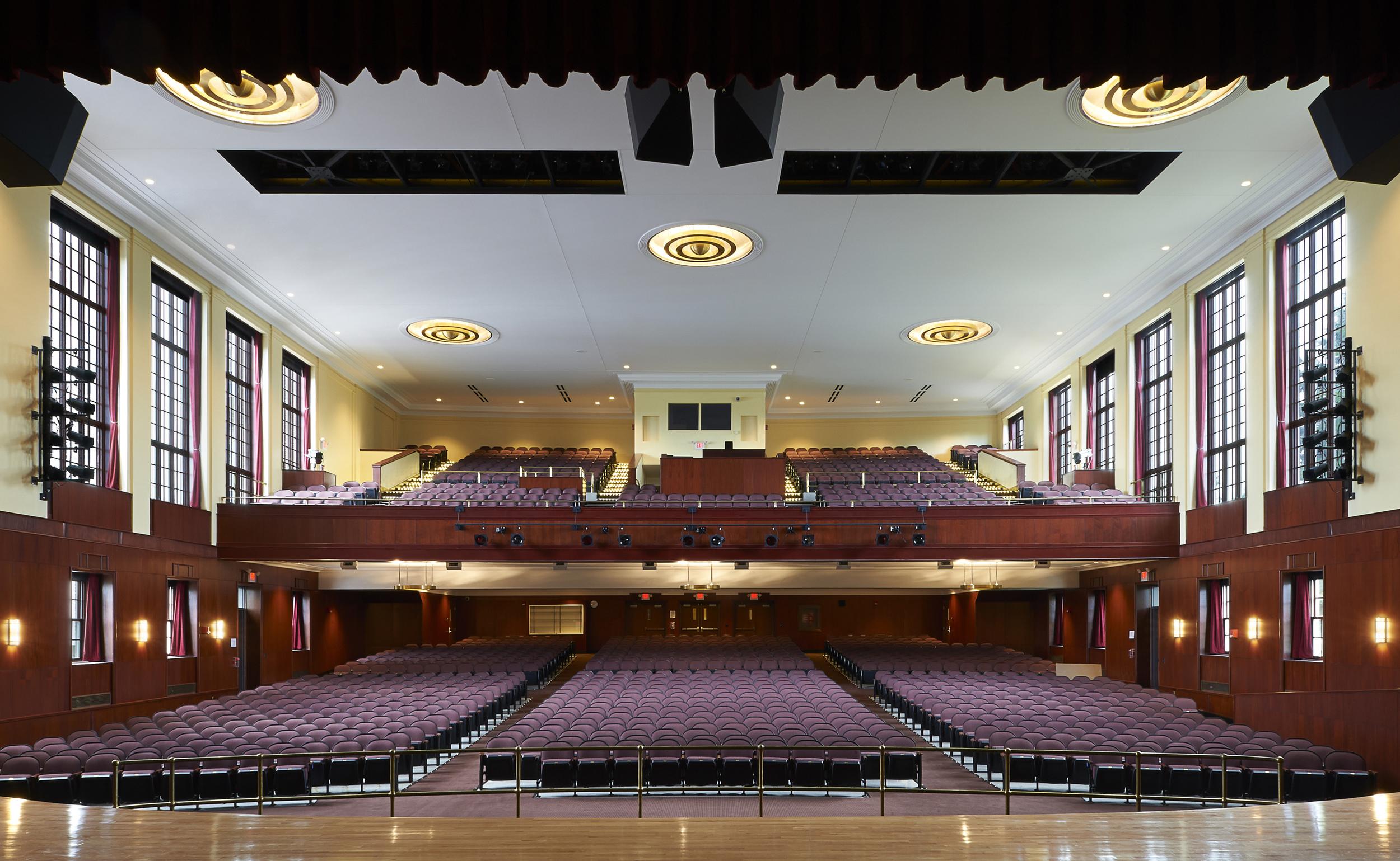Proctor High School Auditorium Restoration