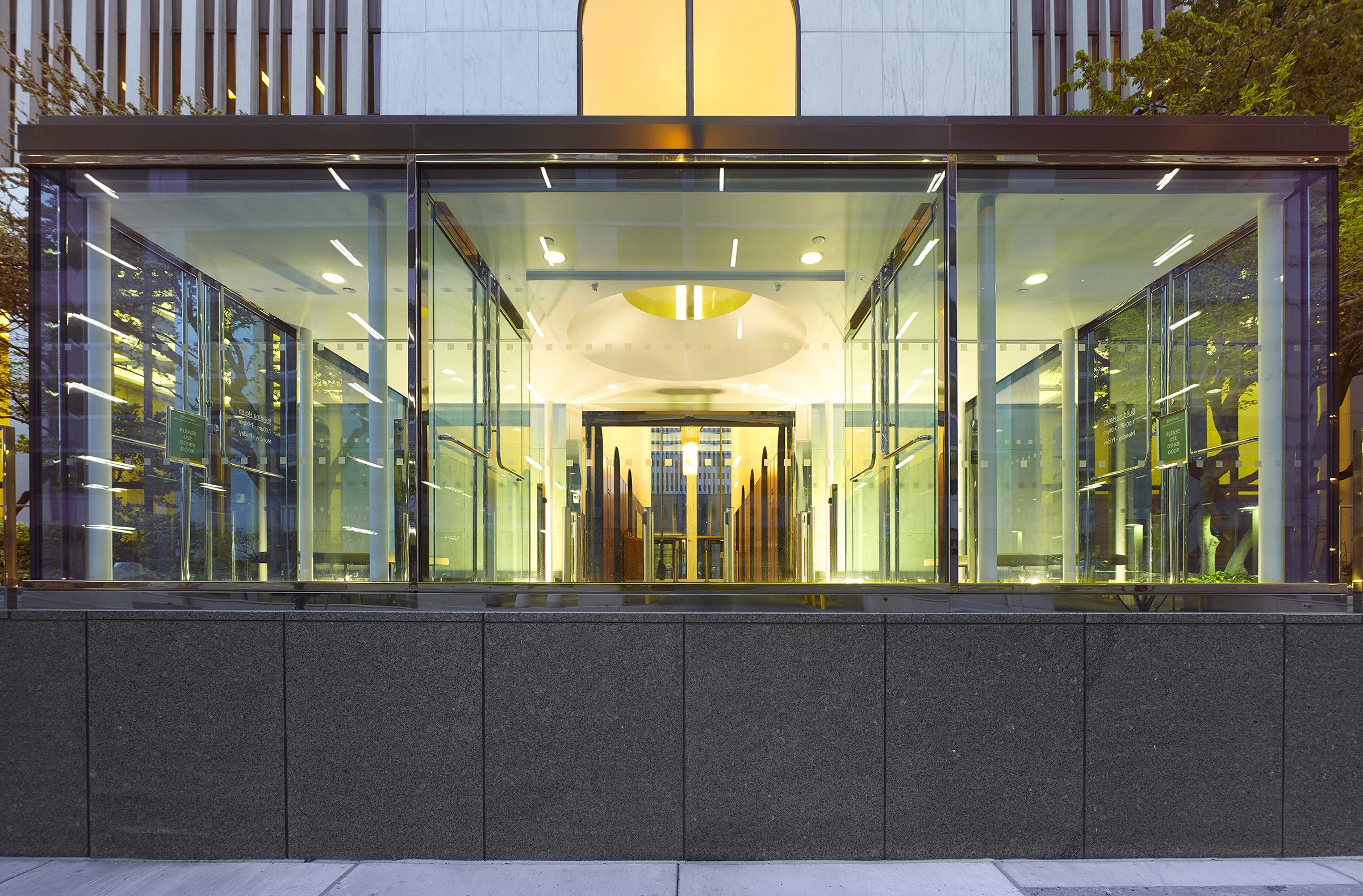 Entrance Pavilion / One M&T Plaza