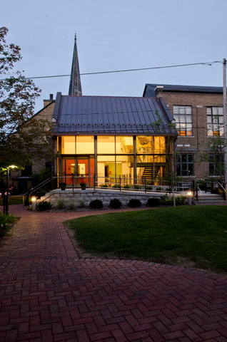 Westminster Presbyterian Church New West Entrance