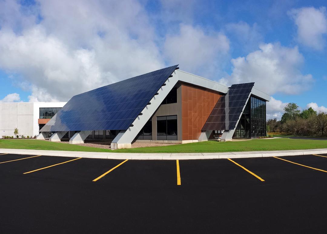 Riverwalk Solar Building