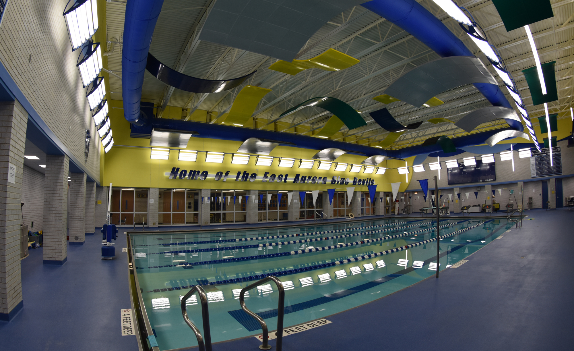 East Aurora Union Free School Natatorium